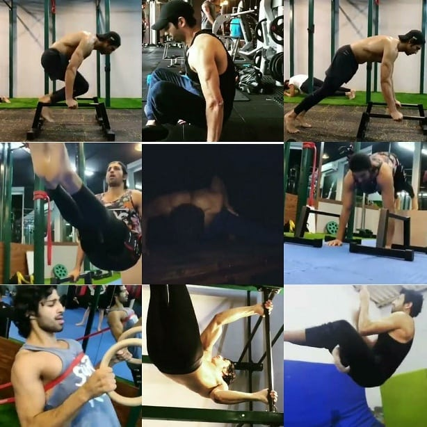 To enjoy the glow of good health you must exercise. You can take some tips from fitness lover, hardworking, motivator complete master, one of the fittest actor who is inspiration to all the boys  @aashim90  #KarnSangini<br>http://pic.twitter.com/x6XOGKbZmx