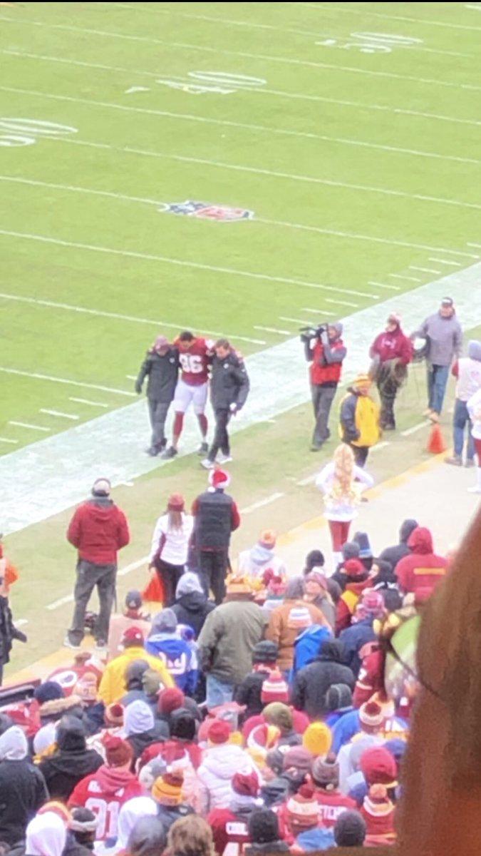 Injury Report For Washington Redskins TE Jordan Reed
