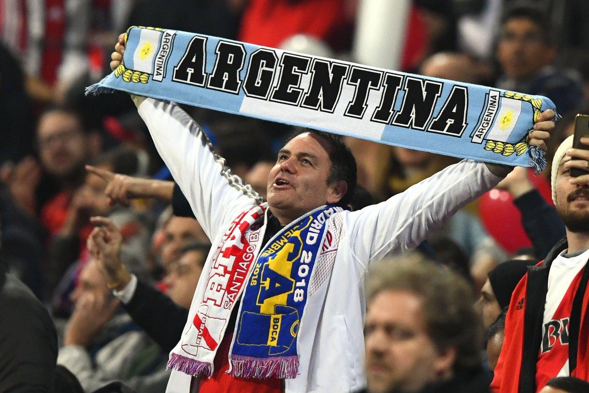 Ela vai acontecer: em Madri, River Plate e Boca Juniors decidem o título da Libertadores. Acompanhe a cobertura completa aqui: https://t.co/Fz5CxnnsGk
