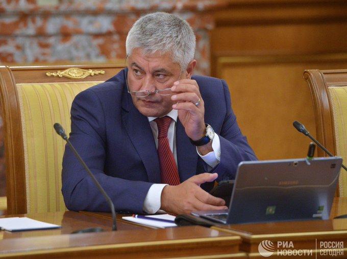 В МВД прокомментировали присутствие Колокольцева на съезде Единой России Фото