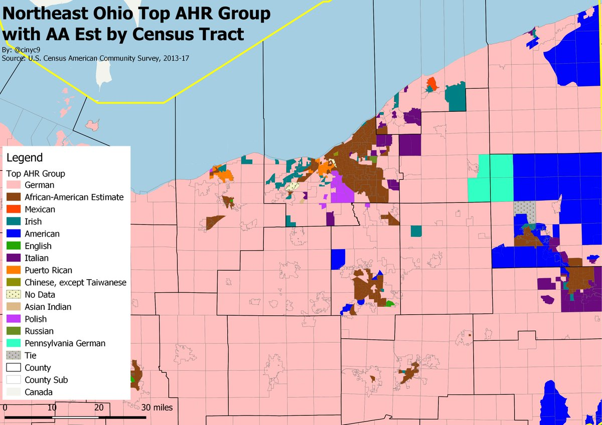 Picture of: Cinyc On Twitter Moving Onto The 3 Major Ohio Cities The Ne Ohio Map Shows That Like Buffalo Metro Cleveland Has A Polish Streak And Like Much Of The Midwest The Top