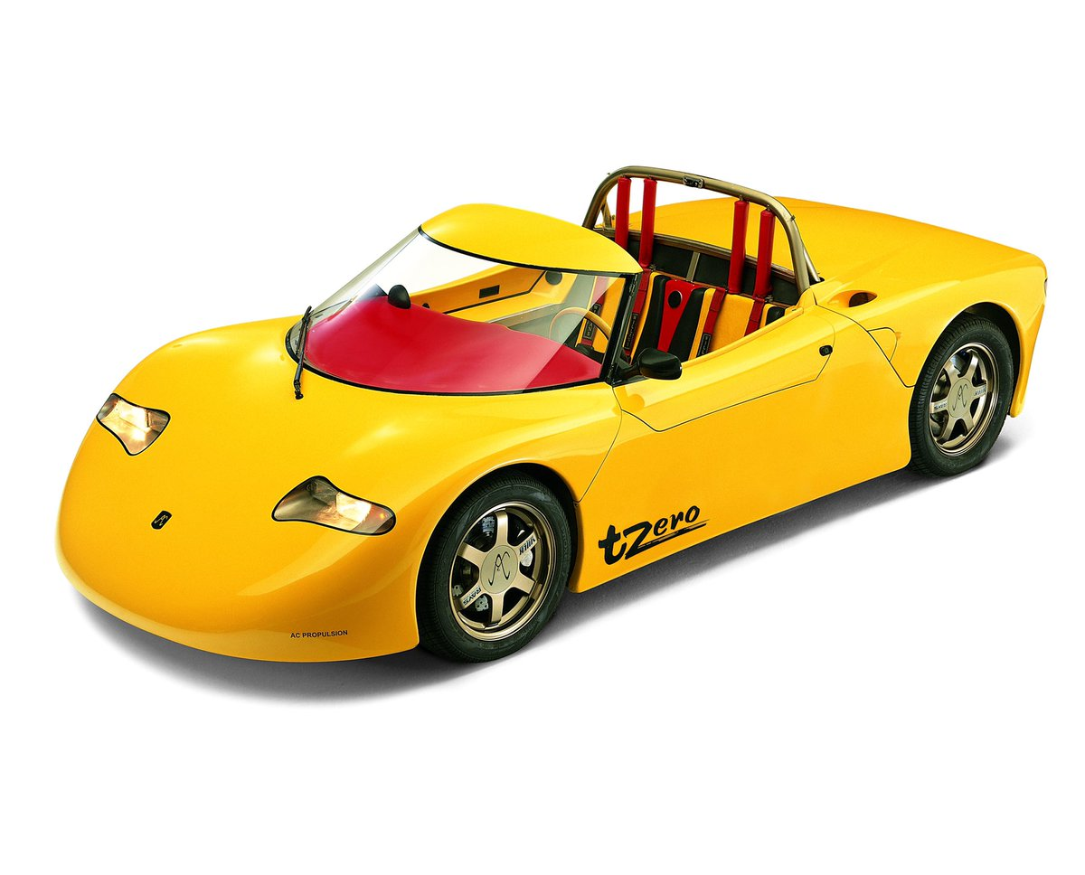 Major credit to AC Propulsion for the tzero electric sports car 1997-2003 that inspired Tesla Roadster. Without that, Tesla wouldn't exist or would have started much later.