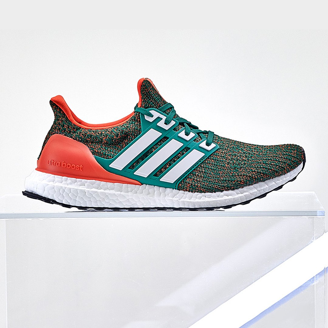 size 40 ca65d 6a78a Now available on adidas US. adidas UltraBOOST 4.0 Miami. — httpbit.ly2KMwMla  adidas UltraBOOST 4.0 Texas AM.