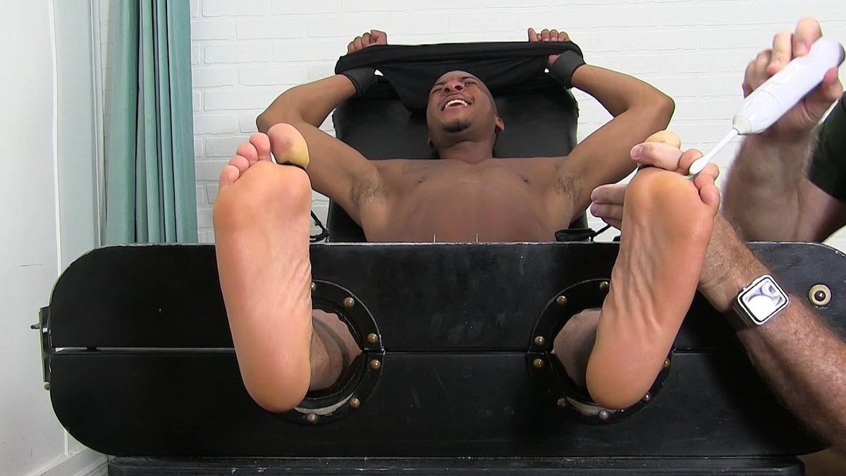 Get gay men foot fetish chase lachance is back for more tickle porn for free