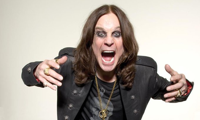 Happy birthday, Ozzy Osbourne! 70 !