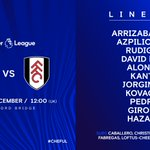 Today's team to play Fulham...#CHEFUL