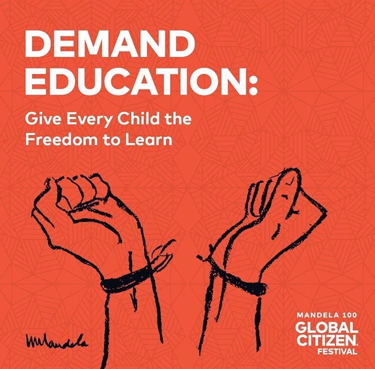 There are 264 million children out of school, denied the freedom that an education affords them. Demand world leaders and donors fund a $40 billion budget gap so that we can defeat poverty. Take action: https://t.co/84yu86yz54  #GlobalCitizen #GlobalCitizenFestivalSA @GlblCtzn https://t.co/kTJCUag50h