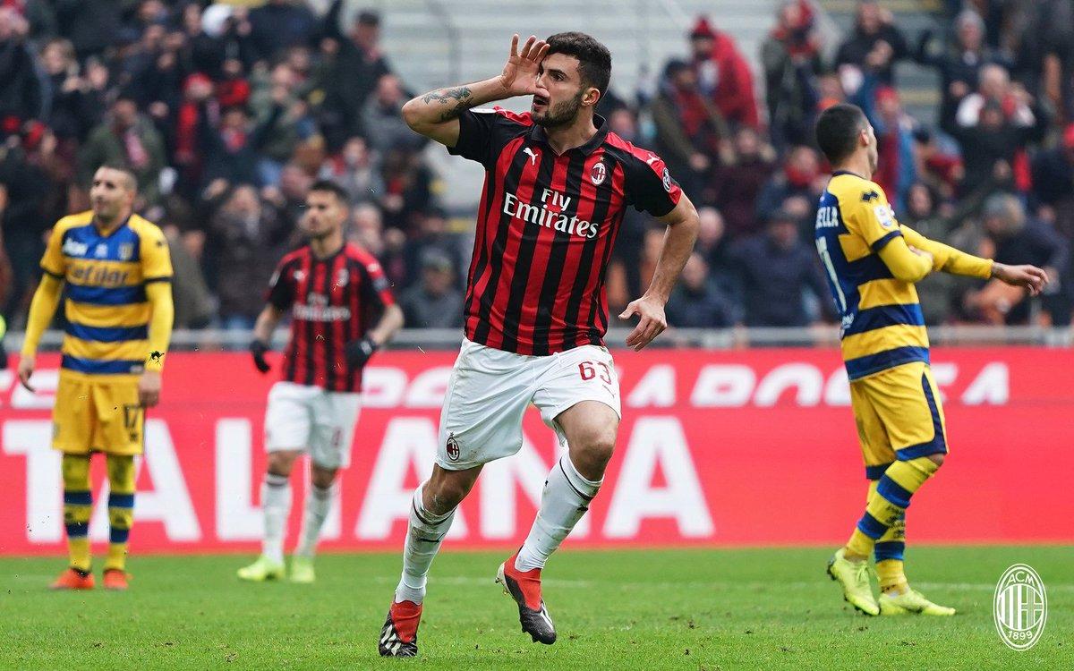 AC Milan 2-1 Parme, résumé Milan Parma