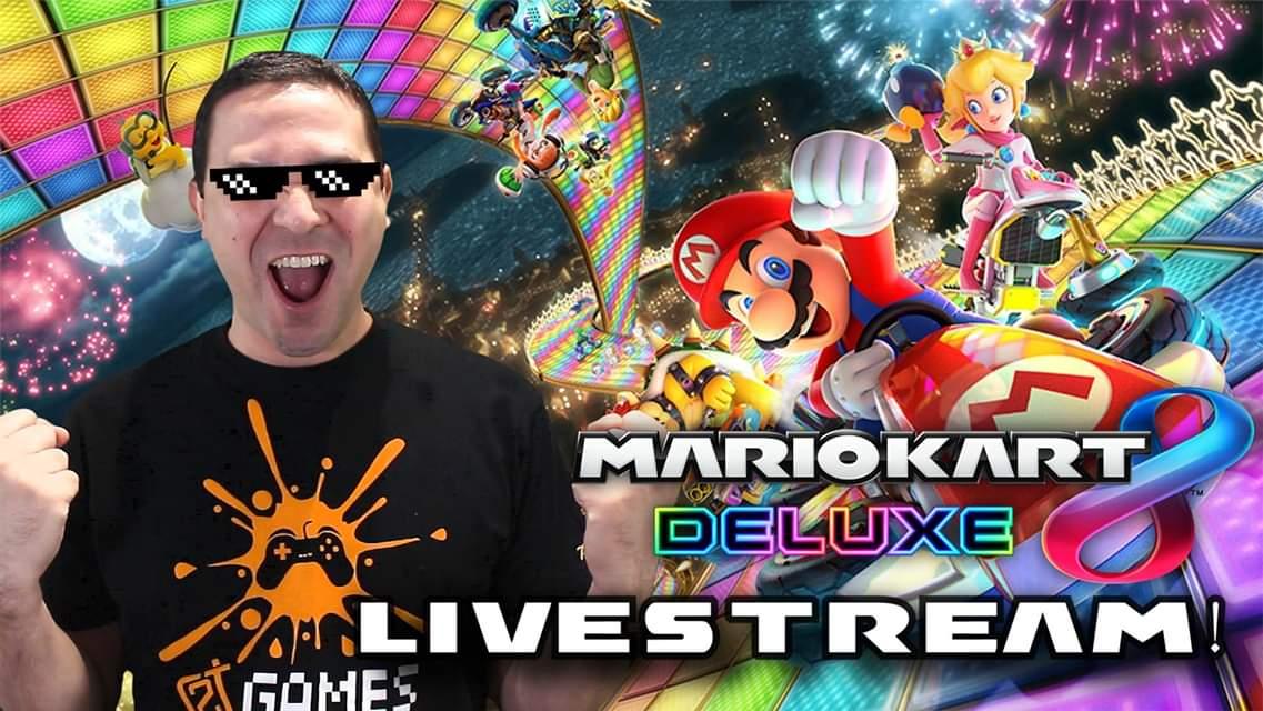 test Twitter Media - Mario Kart 8 Deluxe Livestream σήμερα στις 19:30 στο Gaming κανάλι! Όπου κάθε φορά που τερματίζω σε καλή θέση, θα βάζουμε στο πλάι παιχνίδι του PS4 για διαγωνισμό! https://t.co/7VXRxSvNTA