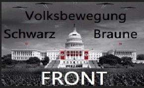 """Über soziale Netzwerke Mitstreiter für die """"Volksbewegung Schwarz Braune Front"""" gesucht; © mik;"""