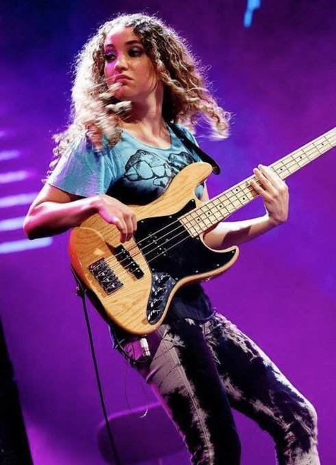 Happy 32nd Birthday to Tal Wilkenfeld. Born December 2, 1986. A phenomenal bass player!