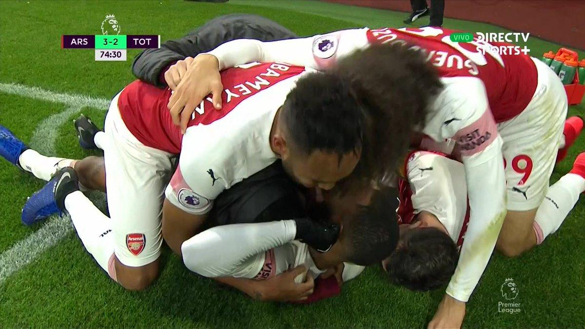 Arsenal Tottenham, résumé Arsenal Tottenham, buts Arsenal Tottenham, video Arsenal Tottenham, buts Aubameyang, but Lacazette