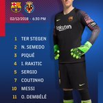 Barça XI⚽ #BarçaVillarreal🔵🔴