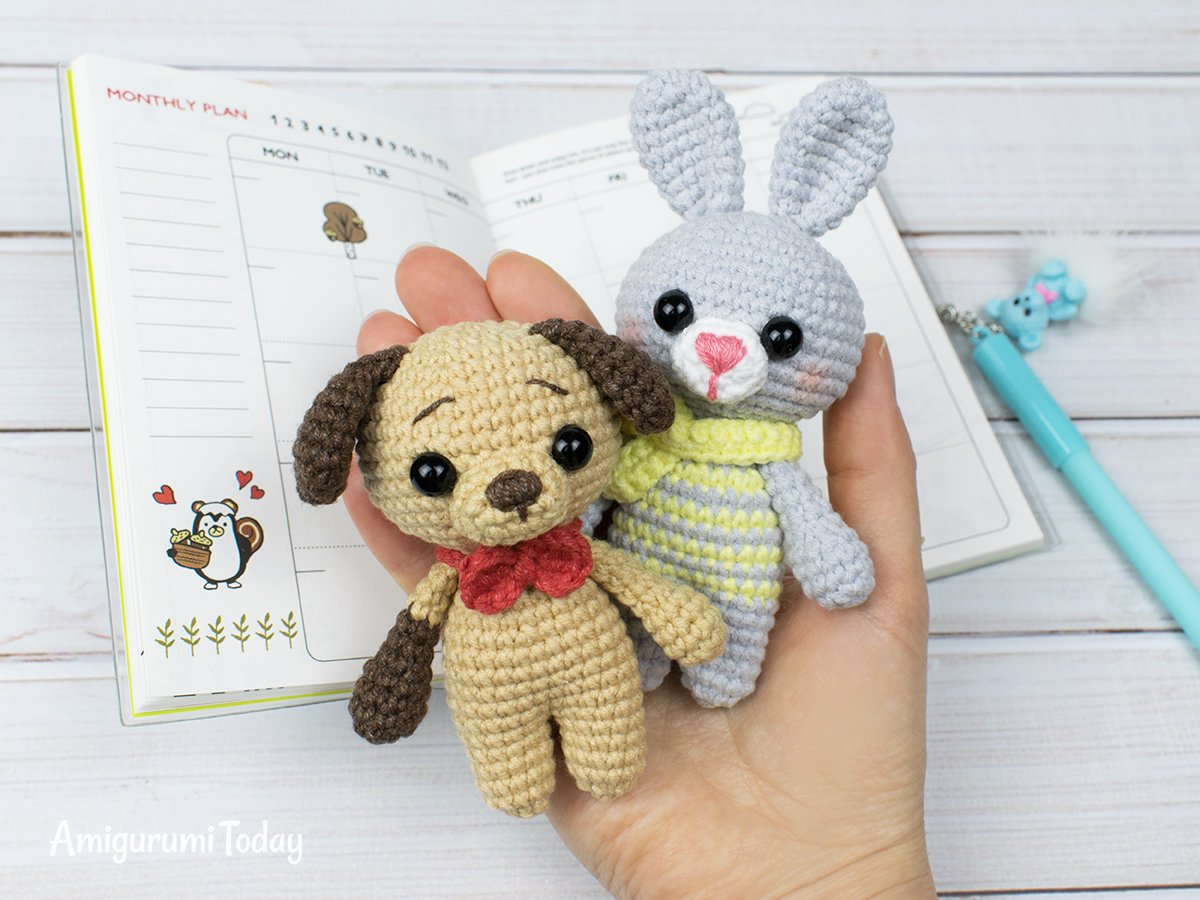 Free tiny crochet animal patterns - Amigurumi Today   900x1200