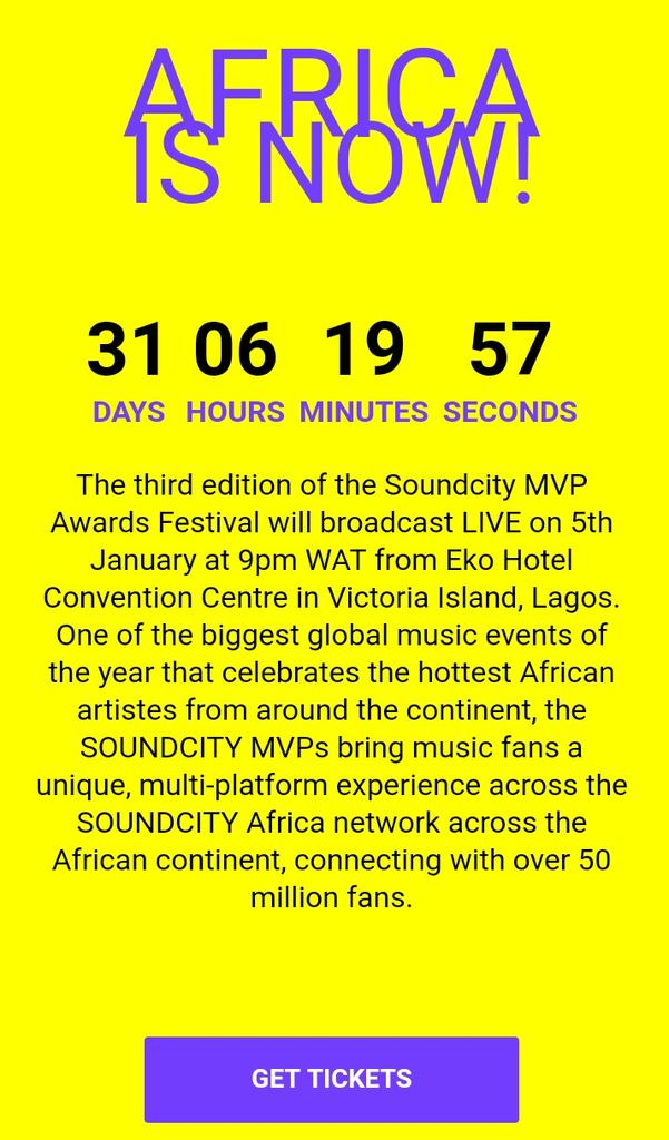 #SoundcityMVP Latest News Trends Updates Images - SoundcityMVP