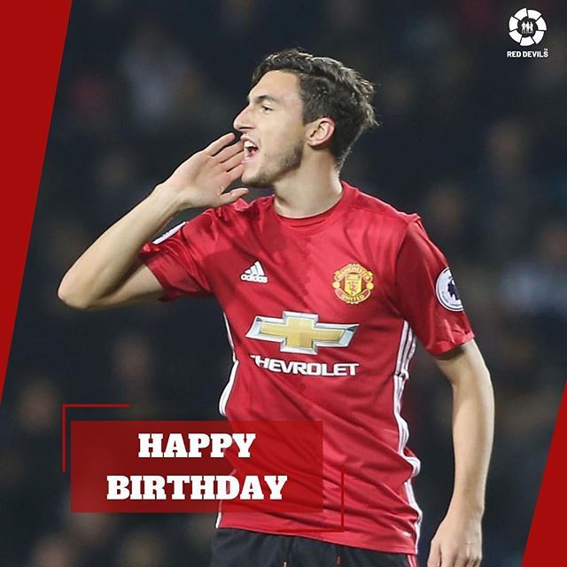 Happy 29th Birthday Matteo Darmian