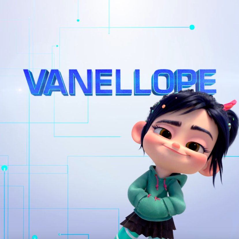 Welcome a princess who needs no introduction. See #Vanellope in #RalphBreaksTheInternet, now playing in theatres.