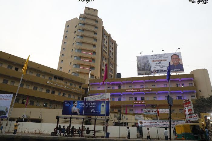 15-storey new Sanatorium building inaugurated  at Ahmedabad Civil hospital