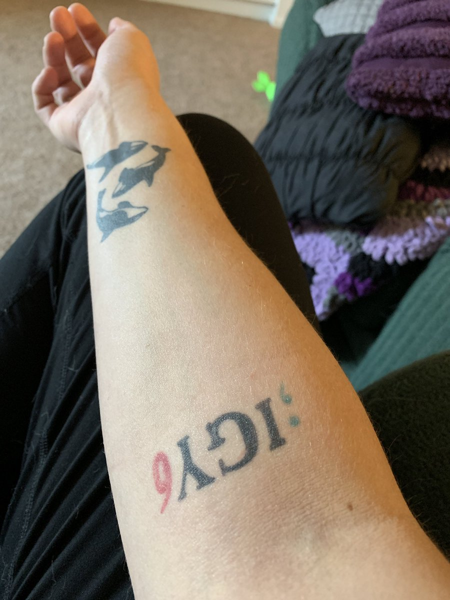 M On Twitter So Everyone Gets Igy6 I Got Your 6 Tattoos But