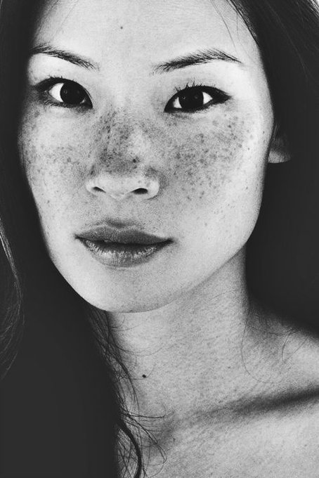 Happy 5  0  Birthday to the beautiful freckly Lucy Liu