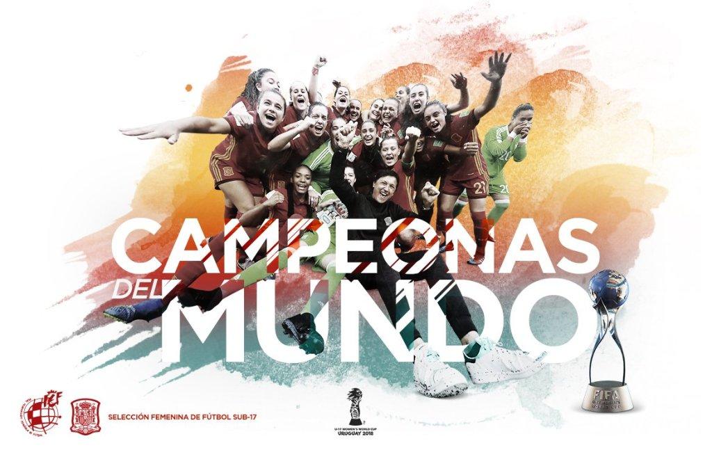 .@SeFutbolFem se proclama campeona del Mundial femenino Sub-17 #VIPDeportivo por @Angelamerino_ #Campeonísimas #U17WWC |#TodasAporElMundial https://vipdeportivo.es/espana-se-proclama-campeona-del-mundial-femenino-sub-17/…