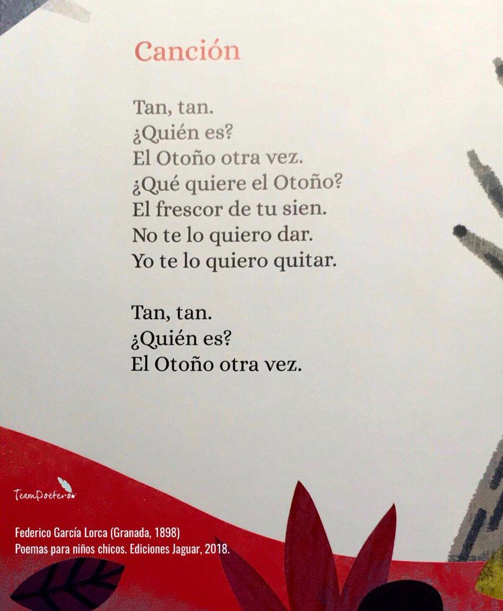 Team Poetero On Twitter Del Libro Poemas Para Niños