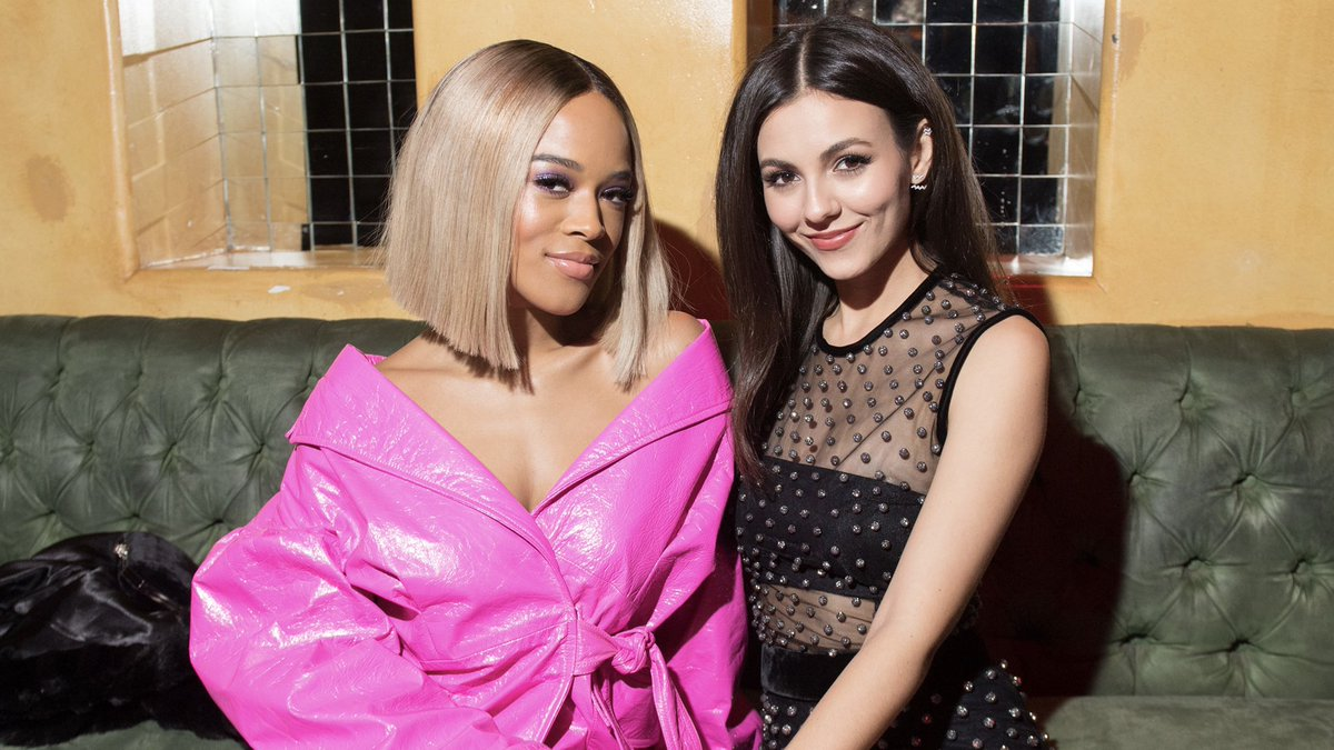 Thank you @serayah & @victoriajustice for being part of #amfAR's #Dance2Cure kickoff. Together we will make #AIDS history! #BeEpic #BeEpicEndAIDS #serayah #victoriajustice 📸: Ryan Emberley