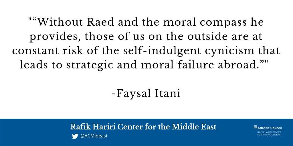 #NeverForget Raed Fares, by @faysalitani: https://t.co/NwwgGCuisI