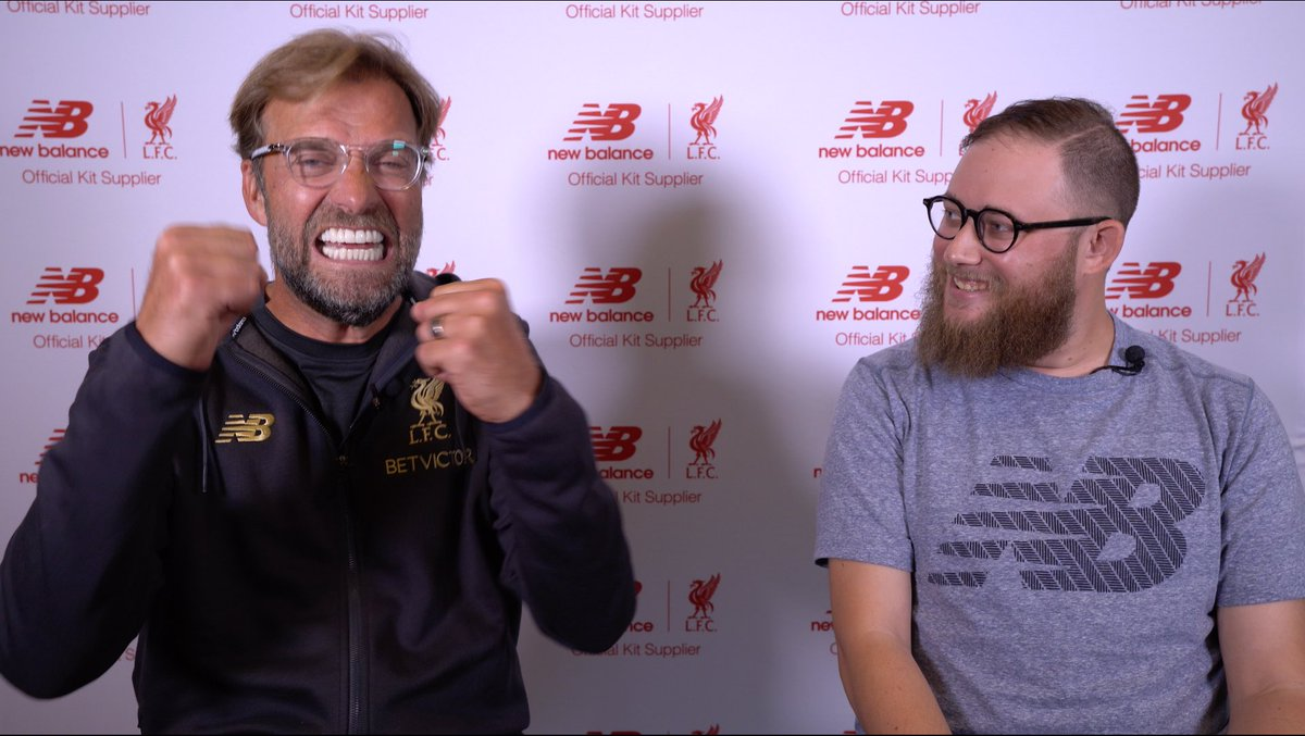"75025582b ... Jurgen Klopp to show us how he celebrates a winner. ""I can't pretend to  celebrate. It's not planned, so I only do what is natural in the moment."