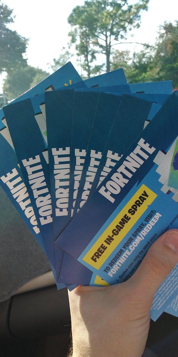 Fortnite Email Generator Fortnite Free Walmart Spray Codes
