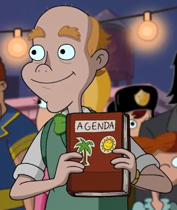 """Happy Birthday to Dan Butler, voice of Mr. Simmons from \""""Hey Arnold!\""""!"""