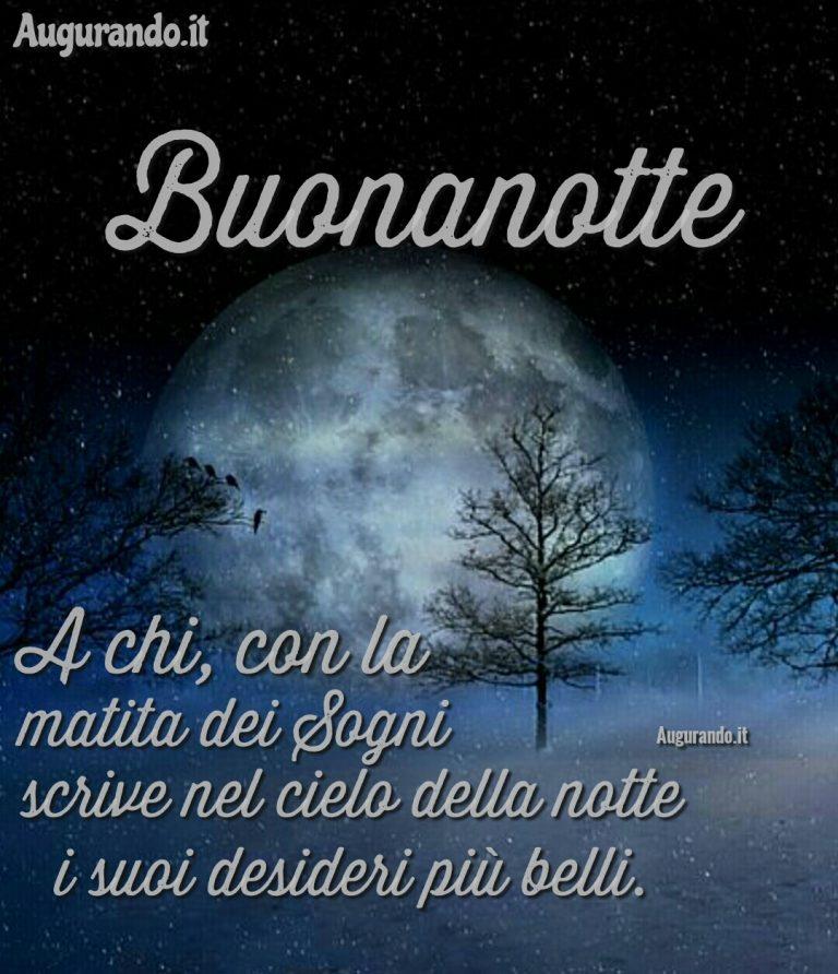 E A Chi Aspetta La Notte Per Sognare Dolce Notte Amiciun Abbraccio