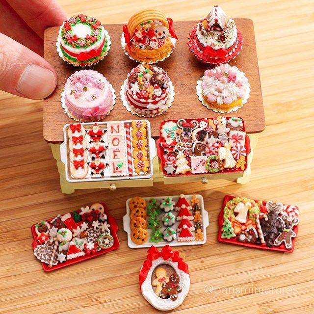 Christmas Miniatures.Paris Miniatures On Twitter New Christmas Miniatures
