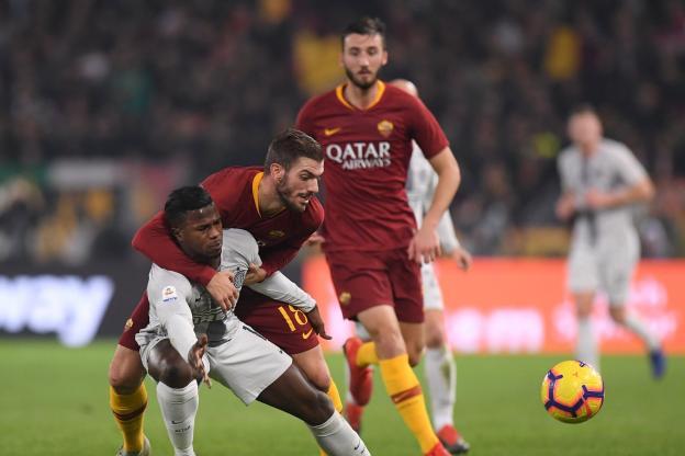 DtcUOmBXoAAlLYN - Rome et l'Inter font match nul 2-2 (Résumé et buts)
