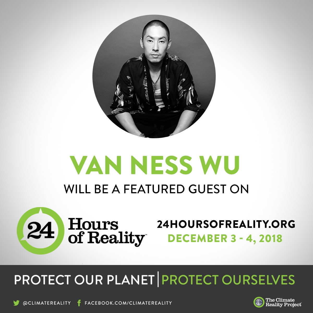 Join in the conversation tomorrow with me at #24HoursofReality @ClimateReality https://t.co/Quv25jexXE