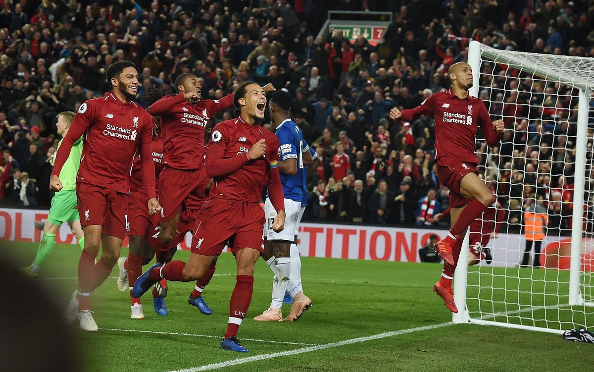 Liverpool is RED! 🔥💪🏽