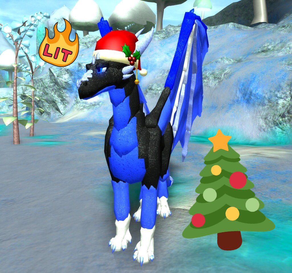 How To Fly In Dragons Life In Roblox Shyfoox On Twitter Santa Hat Now Out In Dragons Life Try To Find It