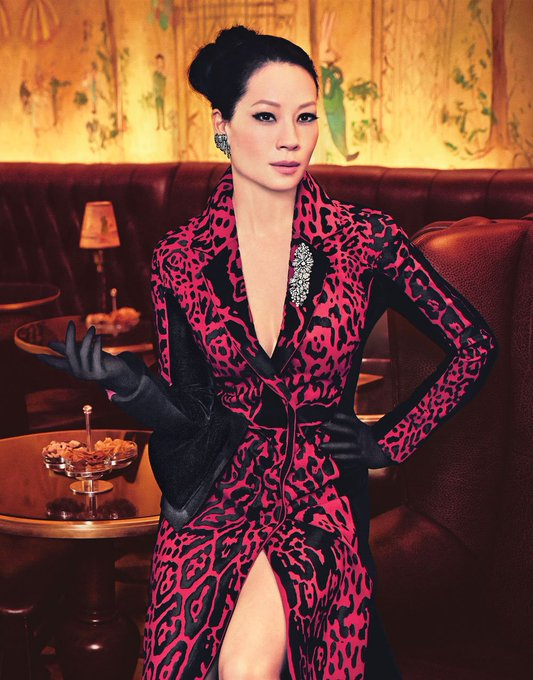 Happy birthday, Lucy Liu!