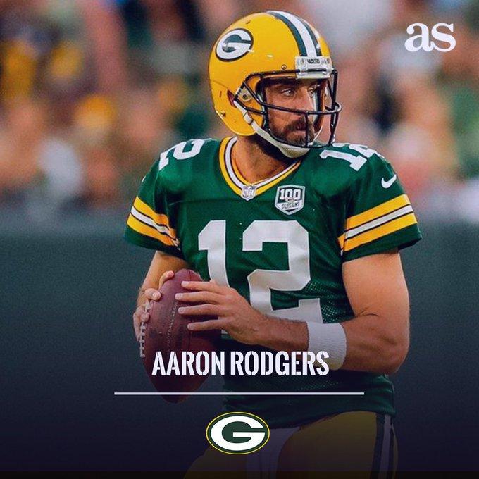 HAPPY BIRTHDAY El quarterback de Aaron Rodgers, cumple 35 años de edad.