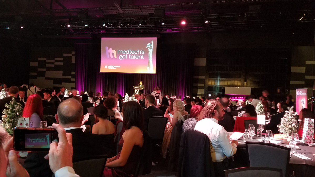 Last Thursday we were invited to the MedTech's Got Talent Gala, the MedTech's night of nights! Thrilled to see so many people committed and excited to foster the next generation of Australian medtech entrepreneurs. #MTGTGala