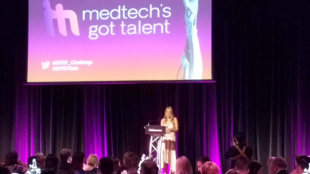 Hearing from @Elisesutho (Elise Sutherland) from @StelectPtyLtd about her MedTech journey was inspiring and really resonated with our own journey. Congratulations to all the teams who presented, especially the BioDesign Melbourne teams, @horizentech and Ventora! #MTGTGala