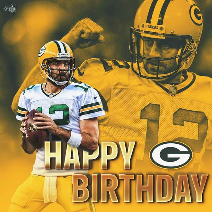 HAPPY BIRTHDAY to 6x Pro Bowl Aaron Rodgers!