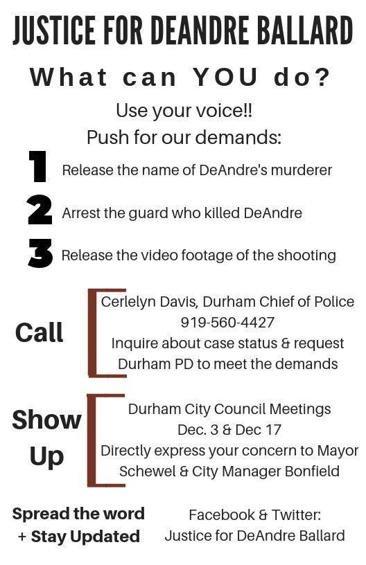 Justice For Deandre Ballard On Twitter Deandre Ballard Was A Nccu