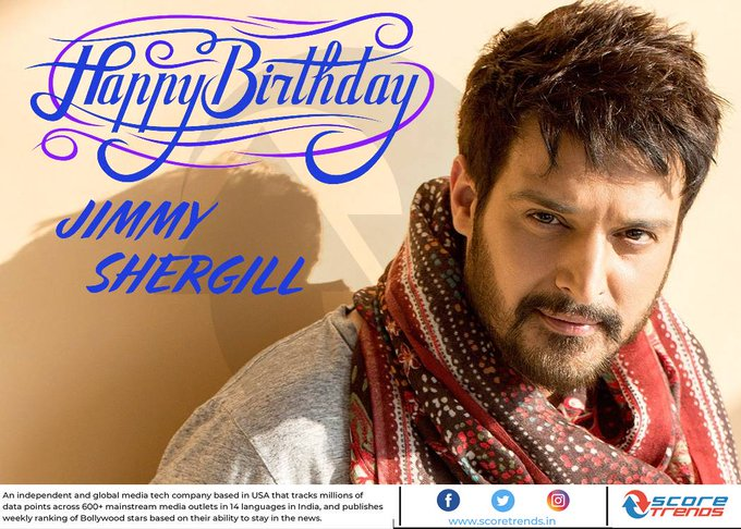 Score Trends wishes Jimmy Shergill a Happy Birthday!!
