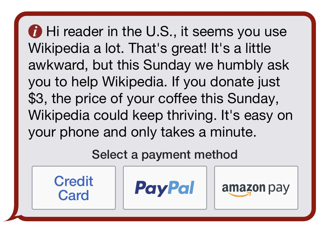 Image result for donate to wikipedia""