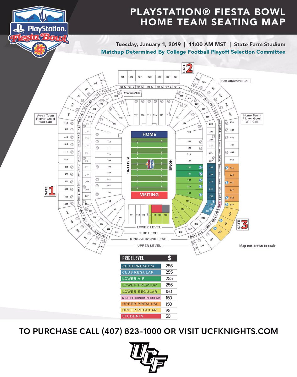 Ucf Knights On Twitter Ucfiesta Seating Map Https
