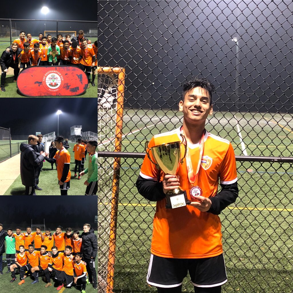 @DutchSoccerCamp U-15 Southampton Cup -Baltimore , MD USA Champions Congratulations!!!Boys!  We came, we played and we conquered @OntarioIsSoccer @CanadaSoccerEN #soccer #oasl