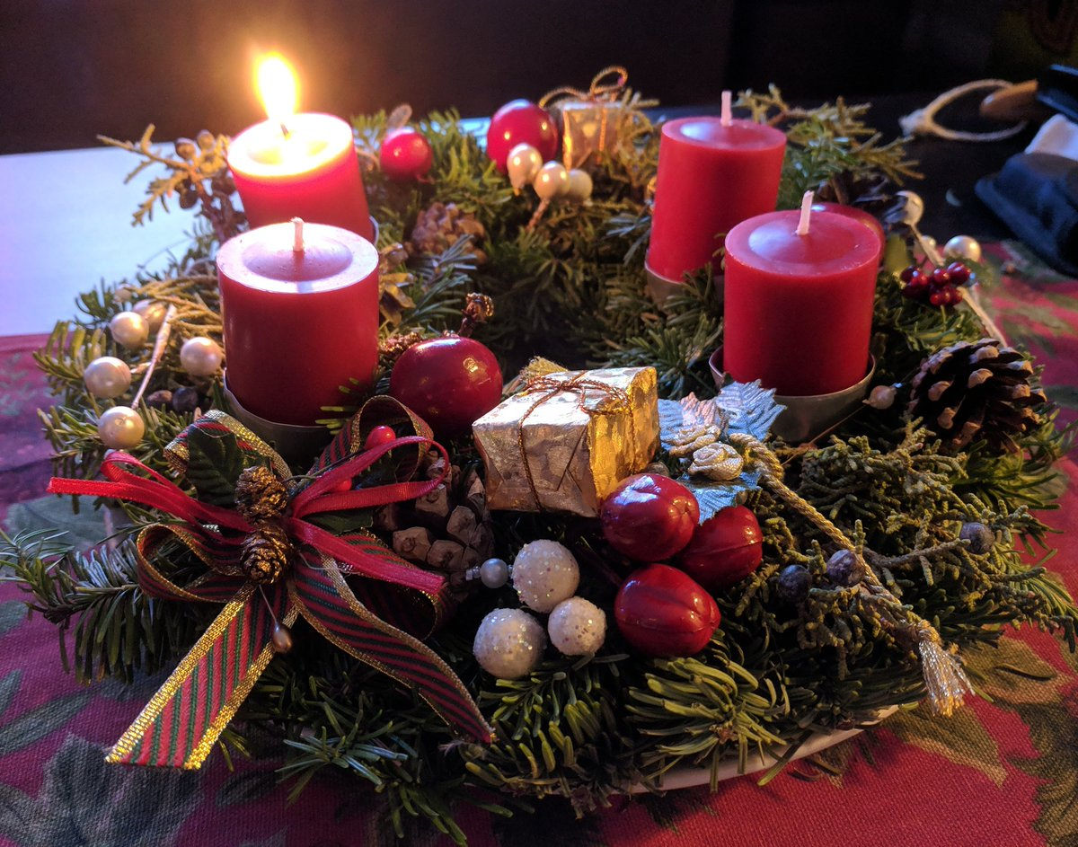 Happy first Advent 🎄