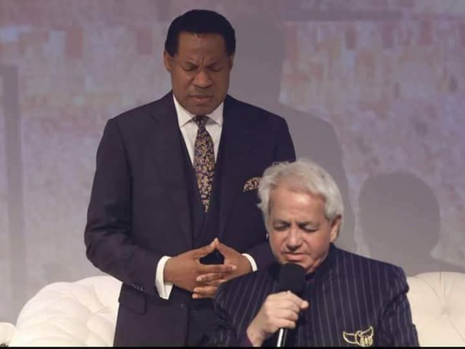 Happy birthday to our Highly Esteemed Pastor Benny Hinn
