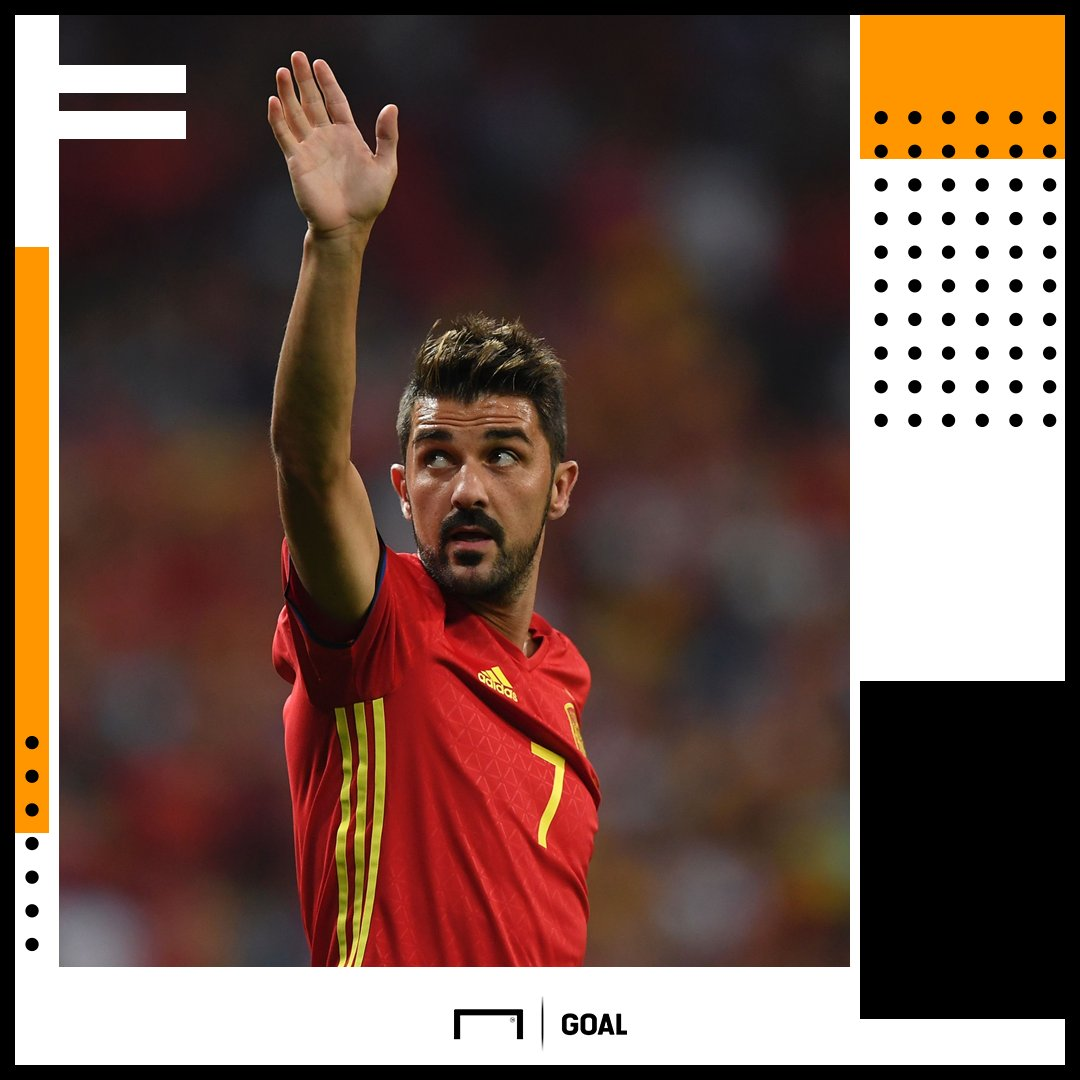 Happy 37th Birthday, David Villa!  829 games  423 goals 14 trophies  Ready to write a new chapter.